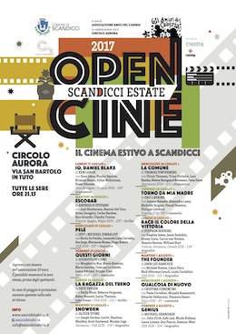 OpenCine 2017 - cinema all'aperto a Scandicci